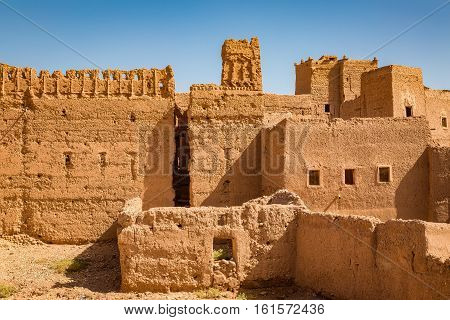 Old Medina In Ouarzazate, Morocco