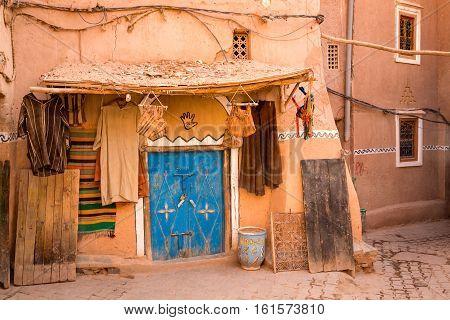 Moroccan Synagogue In Medina Ouarzazate