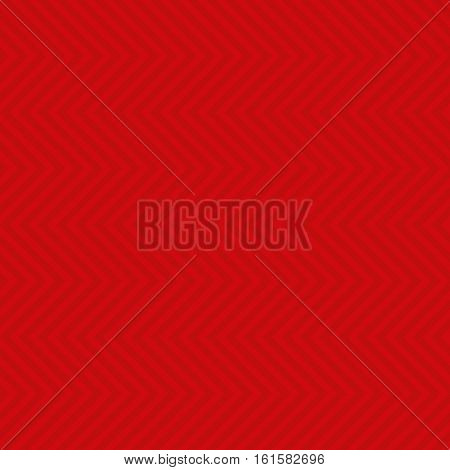Chevron Pattern. Red Neutral Seamless Pattern for Modern Design in Flat Style. Tileable Geometric Vector Background.