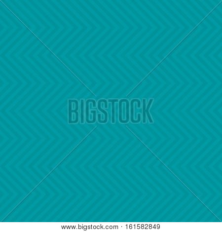 Chevron Pattern. Turquoise Neutral Seamless Pattern for Modern Design in Flat Style. Tileable Geometric Vector Background.