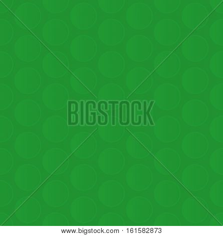 Bubble Wrap. Green Neutral Seamless Pattern for Modern Design in Flat Style. Tileable Geometric Vector Background.