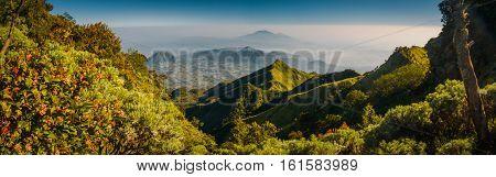 Beautiful Mountains In Java