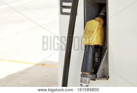 Yellow gas pump Fuel nozzle pump  hybrid, nozzle,