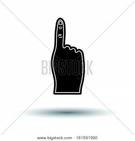 Fans Foam Finger Icon