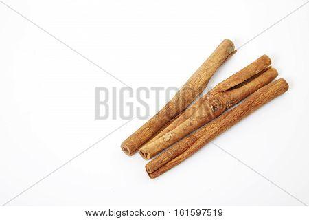 cinnamon isolated on white background, cannella, medicine, cinamon