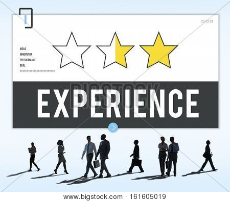 Experience Ideas Performance Knowledge Concept