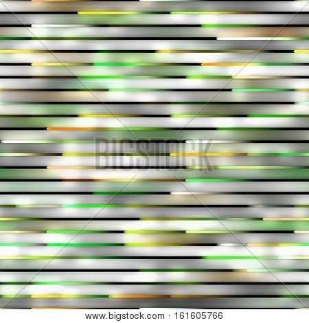 Gradient green Neon Motion Lines. Abstract Geometric Background Design. Seamless Multicolor Pattern