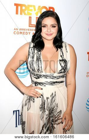 LOS ANGELES - DEC 4:  Ariel Winter at the TrevorLIVE Los Angeles 2016 at Beverly Hilton Hotel on December 4, 2016 in Beverly Hills, CA