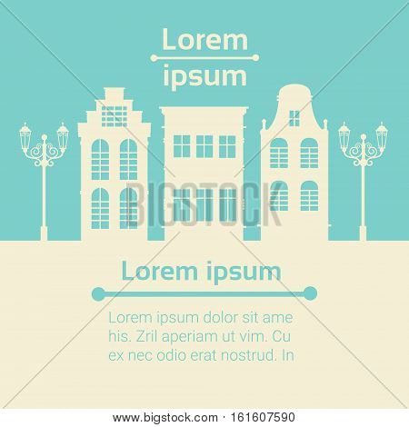 House Graphic Investment Infographic Financial Business Flat Vector Illustration