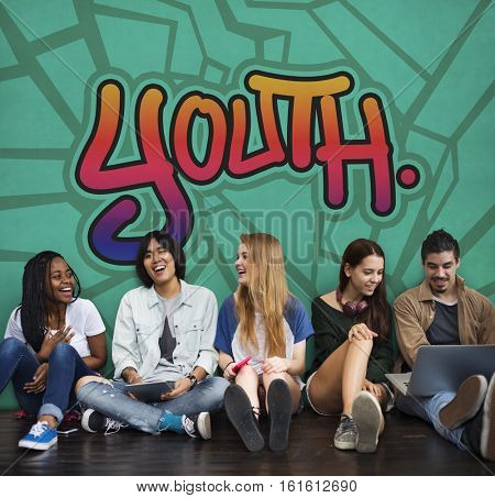 Youth Young Teens Lifestyle Adolescence Concept