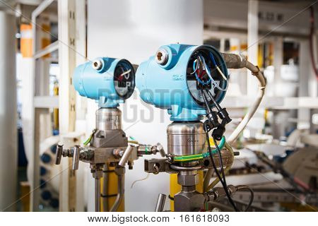 pressure transmitter during technician perform calibration and function test
