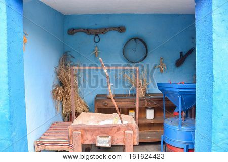 Typical Canarian House Interior