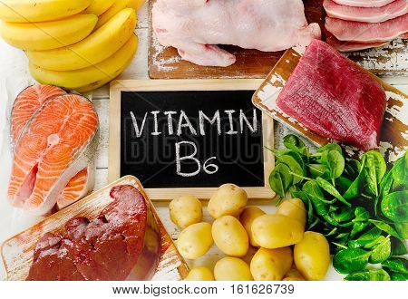 Foods With Vitamin B6(pyridoxine)