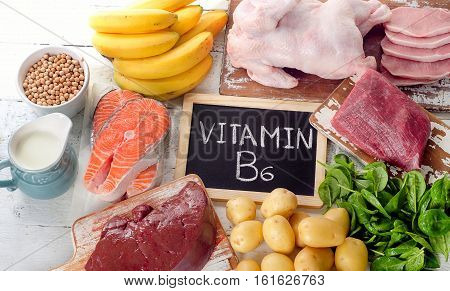 Products With Vitamin B6(pyridoxine).