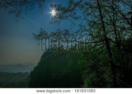 Landscape In The Saxonian Suisse