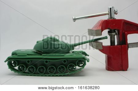 tank vs vise stop the war mutual threat