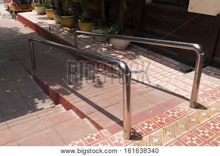 Ramps for the disabled and the elderly.