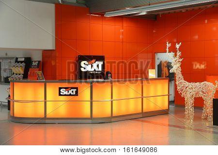 Sixt Car Rental Desk