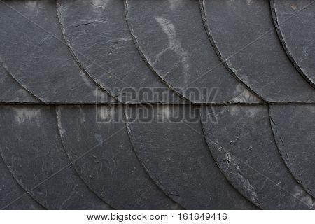 Slate Tiles Wall