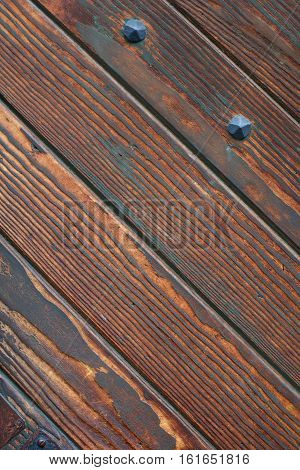 Wooden Brown Door Pattern