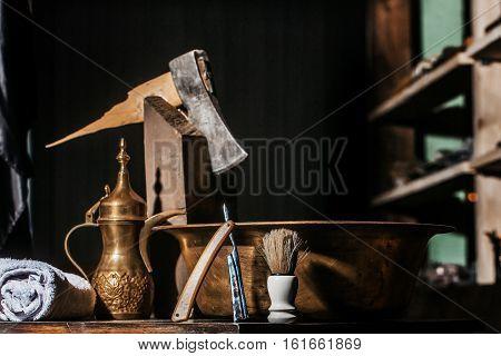 Vintage Barber Or Shaver Tools