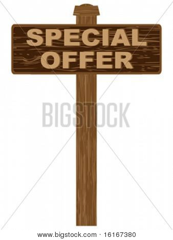 advertising banner for sales special offer
