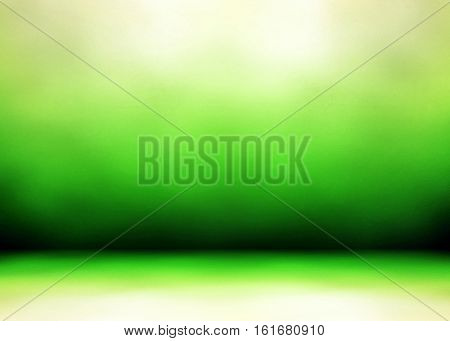 green interior background