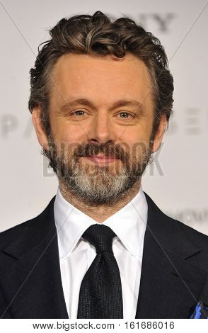 Michael Sheen at the Los Angeles premiere of 'Passengers' held at the Regency Village Theatre in Westwood, USA on December 14, 2016.