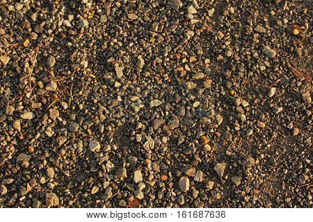 earth and stones close up background dirt texture