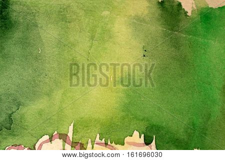 Grunge green background abstract paper grungy art