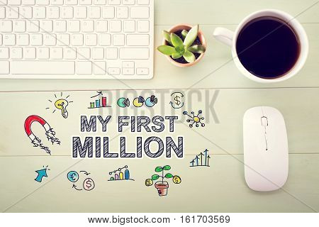My First Million Concept With Workstation
