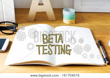 Beta Testing Concept With Notebook