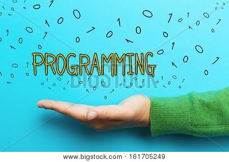 Programming Concept With Hand