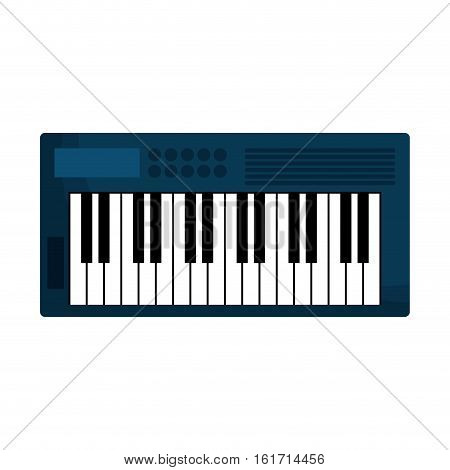 keyboard piano icon image vector illustration design