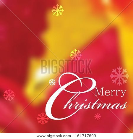 Beautiful colorful defocused Christmas background design. eps10 vector