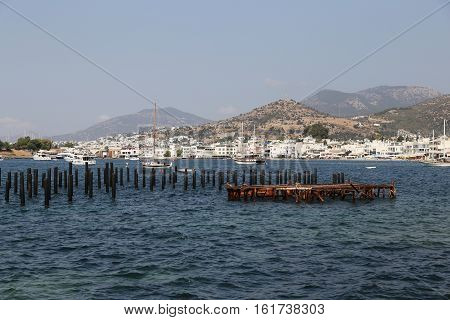Bodrum Town In Mugla City, Turkey