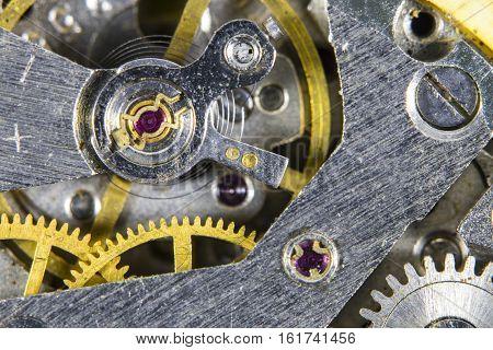 Clockwork Old Mechanical  High Resolution