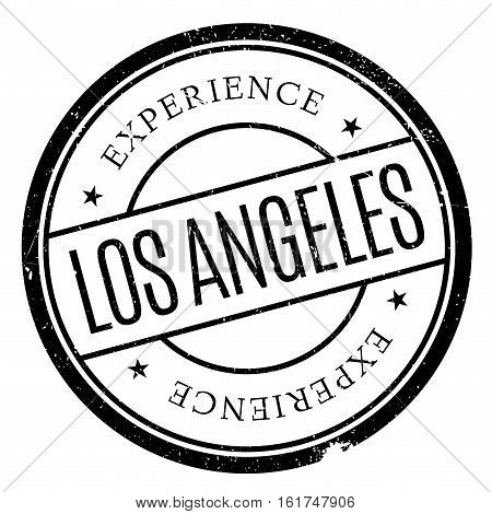 Los Angeles stamp. Grunge design with dust scratches. Effects can be easily removed for a clean, crisp look. Color is easily changed.