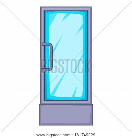 Refrigerator showcase icon. Cartoon illustration of refrigerator showcase vector icon for web design