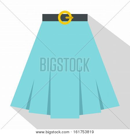 Skirt icon. Flat illustration of skirt vector icon for web