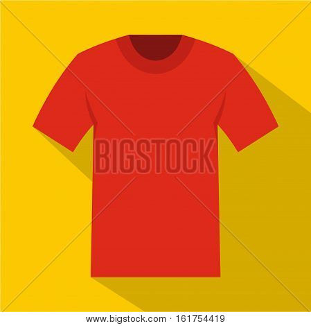 Tshirt icon. Flat illustration of Tshirt vector icon for web