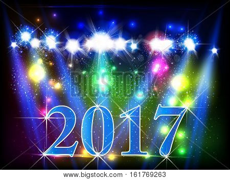 Happy New Year  easy all editable