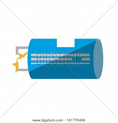 electrical component transistor shadow vector illustration eps 10