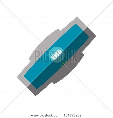 smart bracelet wearable electronic shadow vector illustration eps 10