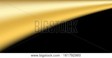 Gold Black Background