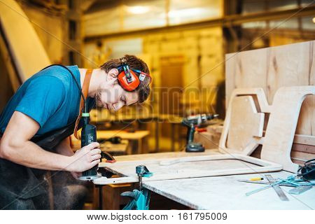 Self-employed joiner