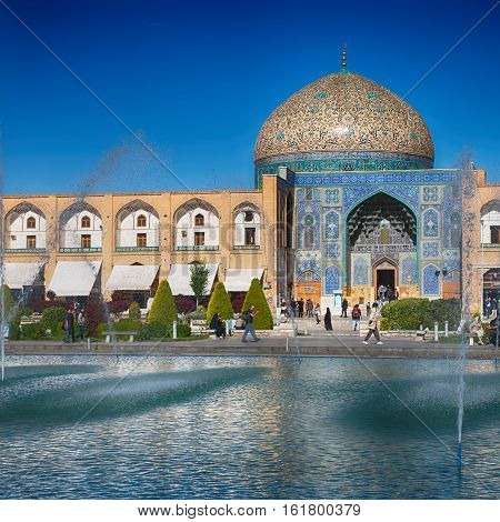 In Iran Old Square Mosque