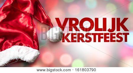 Merry Christmas (in Dutch)