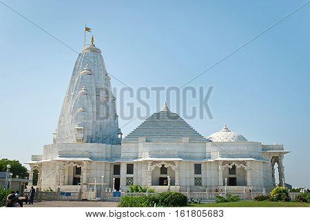 Birla Mandir (Laxmi Narayan) is a Hindu temple in Jaipur India