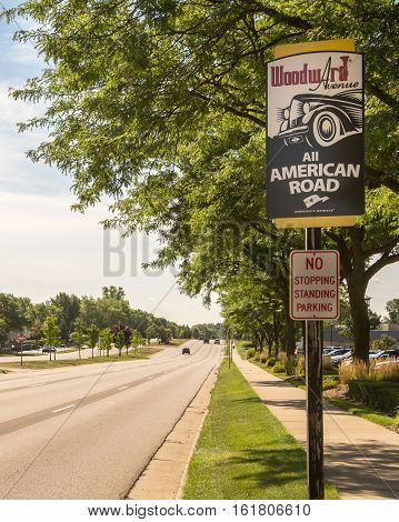 BLOOMFIELD HILLS MI/USA - AUGUST 19 2016:
